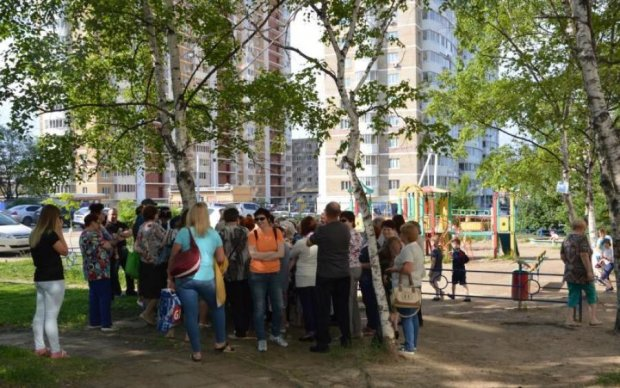 Киевская молодежь восстала против мафии застройщиков: видео