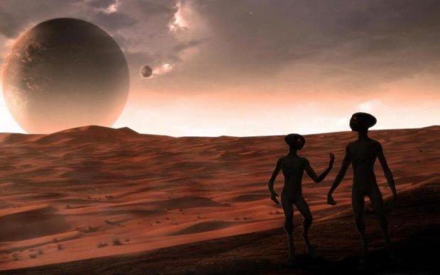 Сенсация! Голову пришельца обнаружили на Марсе