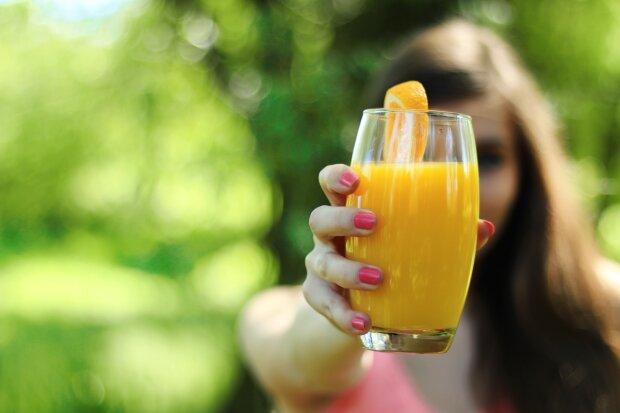 апельсиновый сок, фото Pxhere