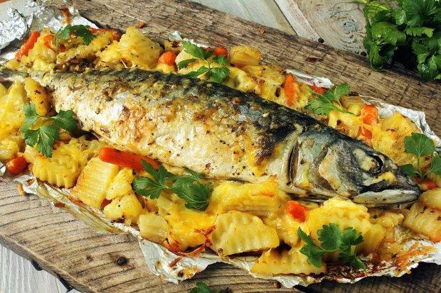 Универсальный рецепт запеченной рыбы