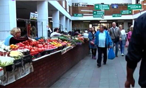 Цены на продукты, кадр из видео