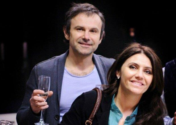 Святослав Вакарчук з колишньою дружиною, фото з Instagram