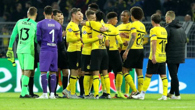 Лига чемпионов: Боруссия разгромила Атлетико в Дортмунде