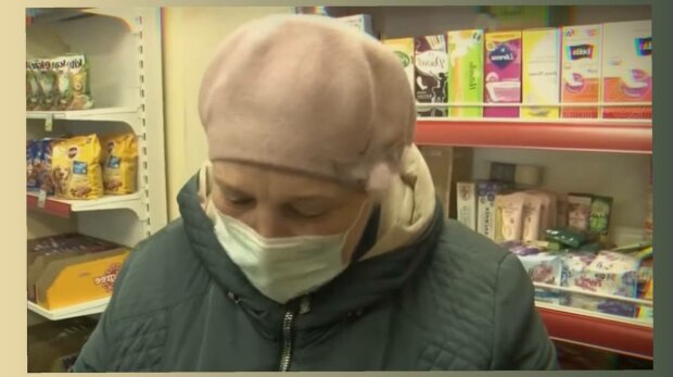 Пенсионерка, фото: скриншот из видео