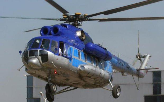От судьбы не уйдешь: спасательный вертолет упал на только что уцелевших