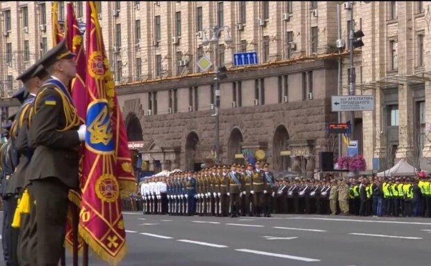 Военный парад / скриншот из видео