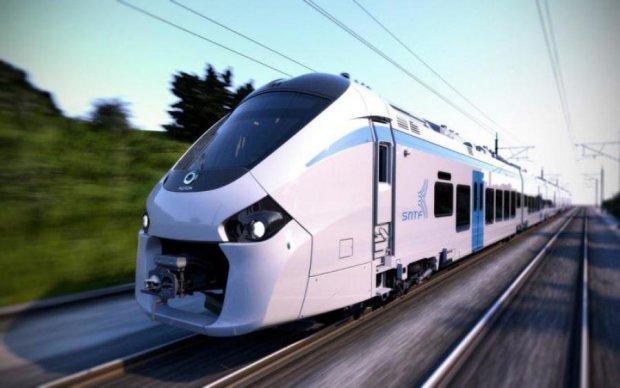 Перший в світі безшумний поїзд показали на відео