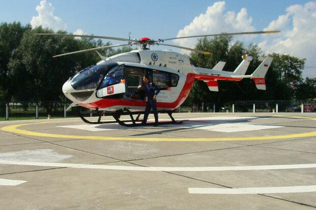 Киевские медики поднимут в небо авиацию ради больных украинцев