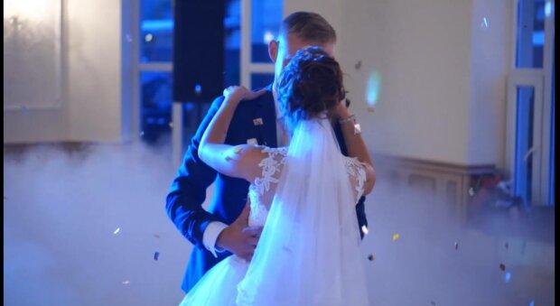 Свадьба, фото: скриншот из видео