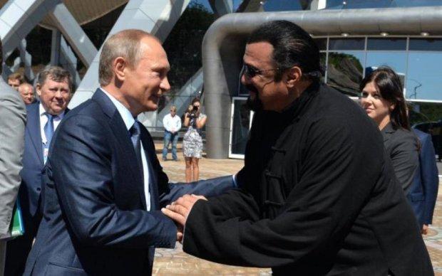 Лавров заволновался: Стивен Сигал получил от Путина жирную должность в МИД