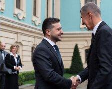 Встреча Владимира Зеленского с Премьером Чехии, фото: Сайт Президента