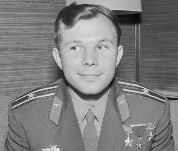 Юрій Гагарін, фото Wikimedia Commons