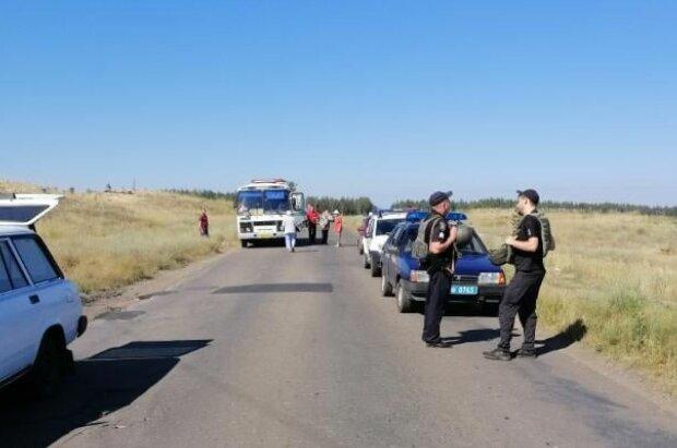 Мінування під Луганськом, скріншот: Facebook