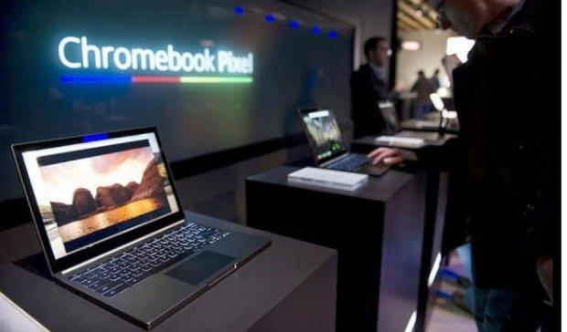 Google відмовився від ноутбуків Chromebook Pixel