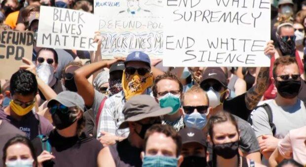 Протести у США, фото: youtube