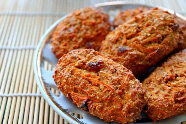 Вкусно и полезно: вегетарианское морковное печенье