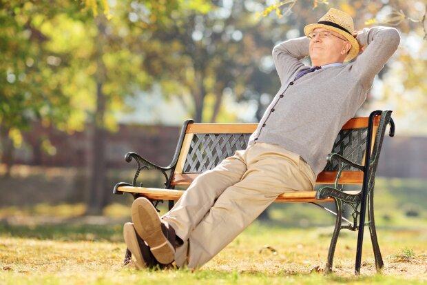 Пенсионер, фото из свободных источников