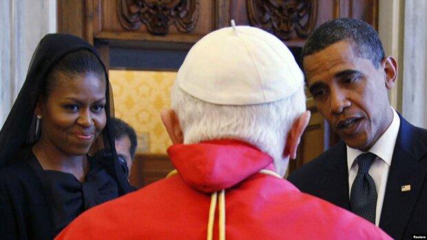 Барак і Мішель Обама у Ватикані