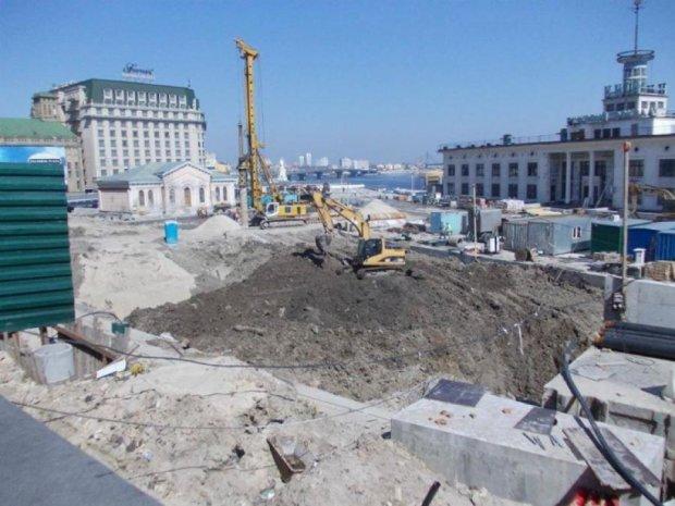 На Поштовій закопали вулицю часів Київської Русі
