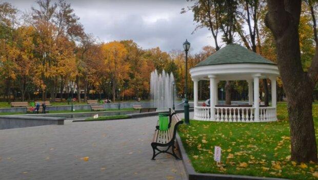 осінній Харків, скріншот з відео