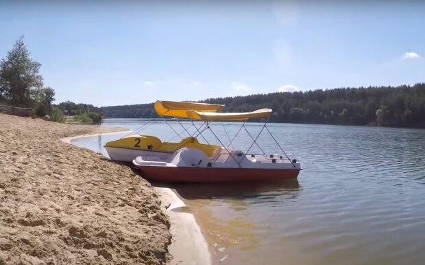 Скрин, видео YouTube Голубые озера