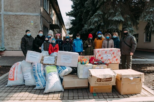 Благотворительная акция, фото с Facebook