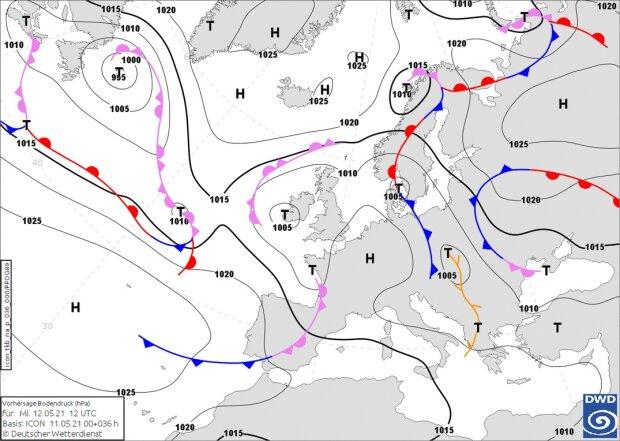 Прогноз погоди на 12 травня, фото: Наталка Діденко