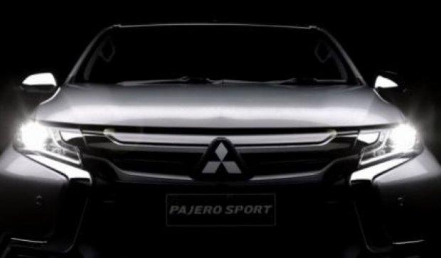 Mitsubishi представила обновленный Pajero Sport (видео)