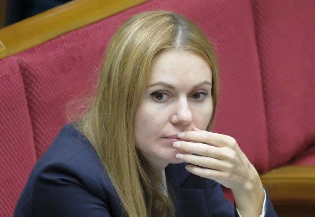 Анна Скороход, фото з зали ВР