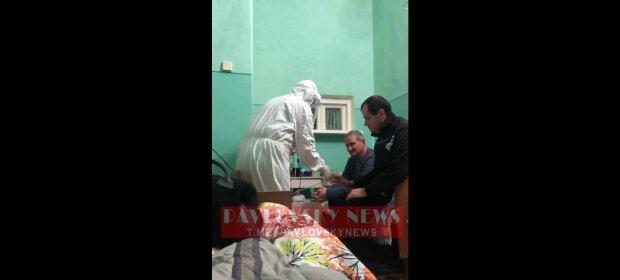 11 градусов тепла, унитаз в центре палаты и одна розетка на всех: в каких условиях лечат ковид в Украине