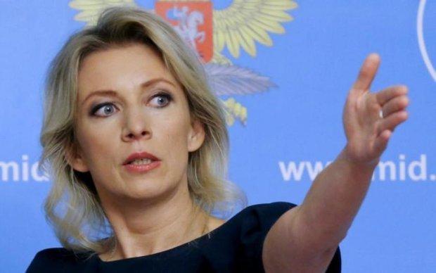 """""""Закушуйте хоч"""": Захарова знову зганьбилася на всю Росію"""