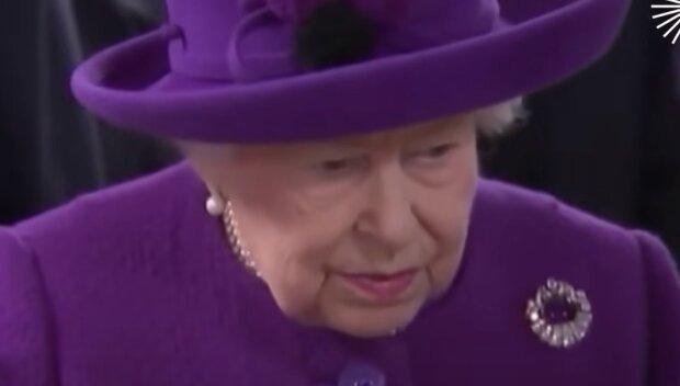 Елизавета II, скриншот: Youtube