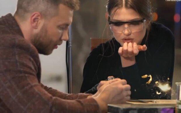 "Юлия ""Зайка"" и Михаил Заливако / скриншот из видео"