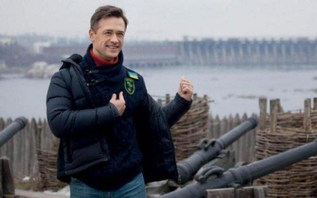 Готовий до бою: з'явились нові фото відомого російського актора в зоні АТО
