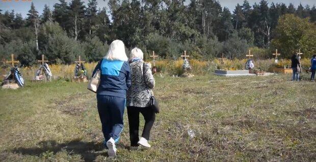 Цвинтар, скріншот із відео