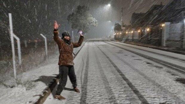 Снег в Бразилии, фото с источников