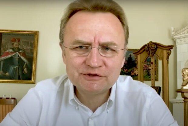 Андрей Садовый, скриншот из видео