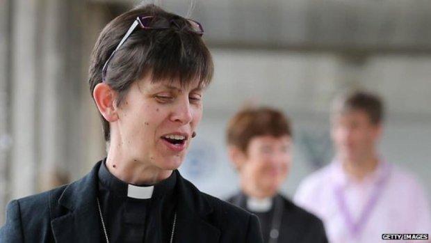 Перша жінка-єпископ виголосить свою проповідь