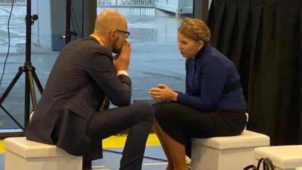 Юлія Тимошенко та Арсеній Яценюк