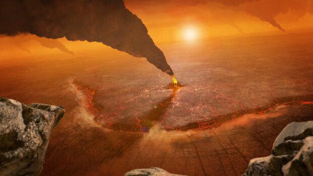 Пейзаж Венеры, изображение NASA/JPL-Caltech/Peter Rubin