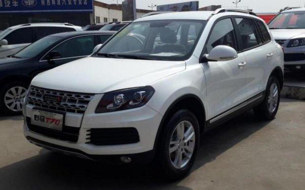 Китайцы удивили очередным клоном Volkswagen Touareg