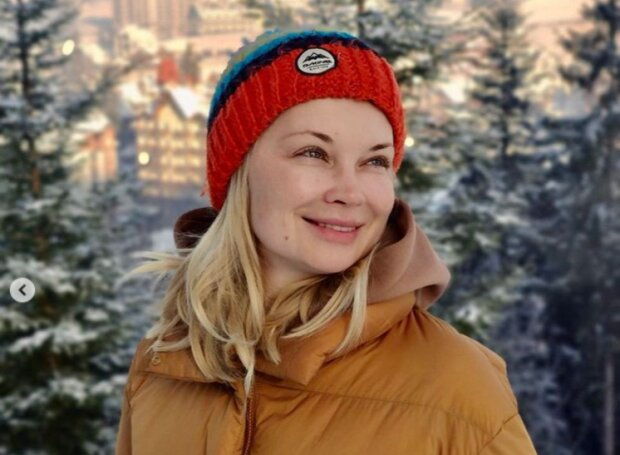 """Ведуча Лідія Таран всміхнулася українцям із засніженого Закарпаття: """"Ну, поїхали!"""""""