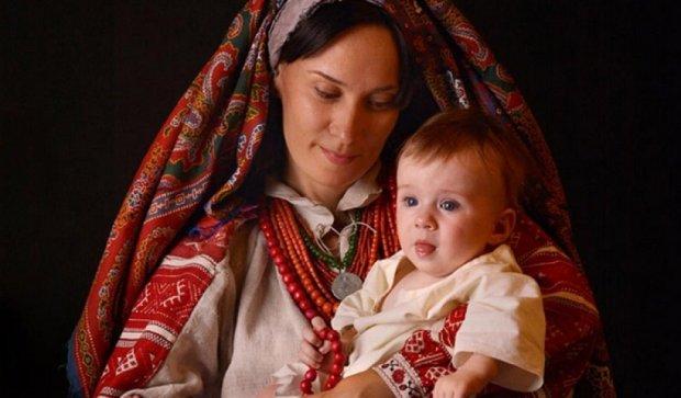 Українська Мадонна показала величність української жінки (фото)