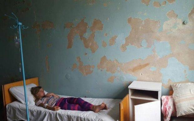 Можна знімати фільми жахів: в мережі показали курортну українську лікарню