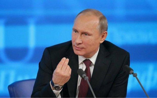 Путін приїхав на окуповані території