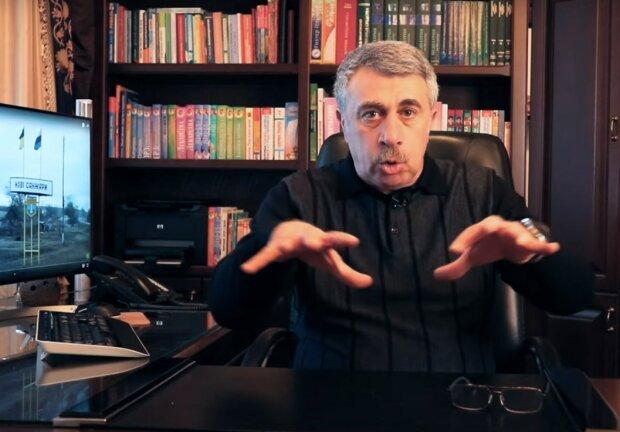 Доктор Комаровский, скрин с видео