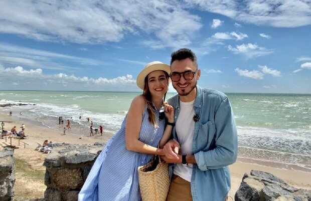 Отдых Макса Узола и Оли Манько, фото: Новый канал