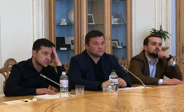 Володимир Зеленський і Андрій Богдан, фото: espreso.tv