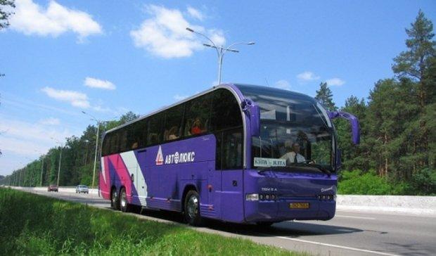 «Автолюкс» запустив  автобуси до Криму