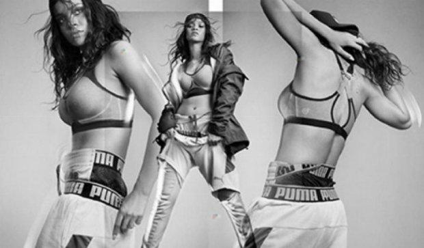 Рианна представит свою коллекцию одежды Puma (фото)